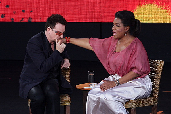 Oprah and Bono