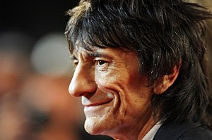 Ron Wood of the Rolling Stones