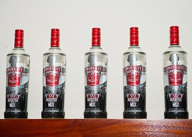Smirnoff bottles