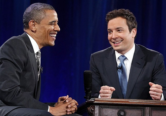 President Obama Visits Jimmy Fallon