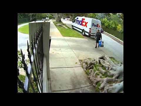 Bad FedEx driver