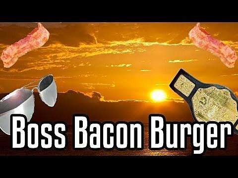 'Boss Bacon Burger'