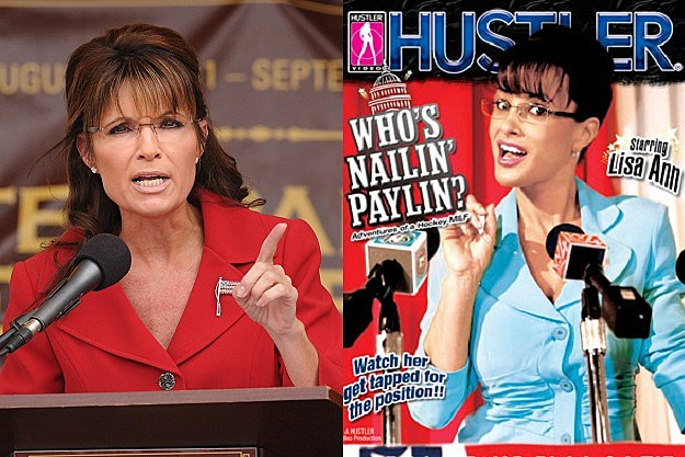 Hustler video sarah palin movie