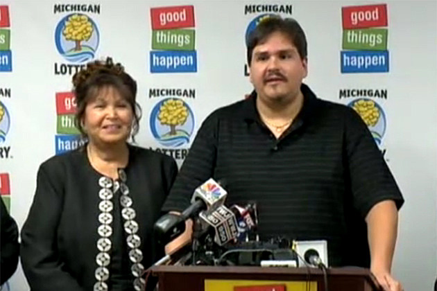 Lapeer Michigan Lottery Winner $337 Million Donald Lawson