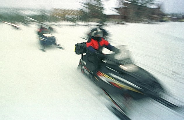 Snowmobile michael smith hulton archive